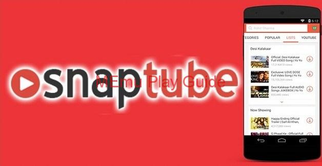 Memu Snaptube for PC Download