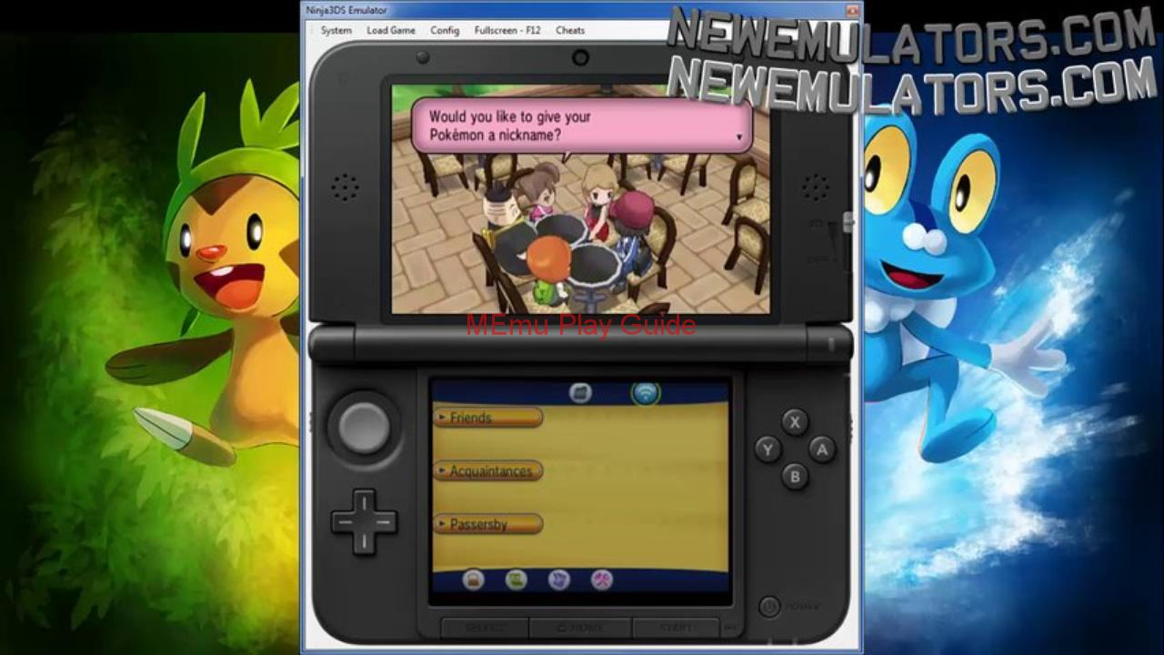 Memu Nintendo Ds Emulator For Pc key Download Free