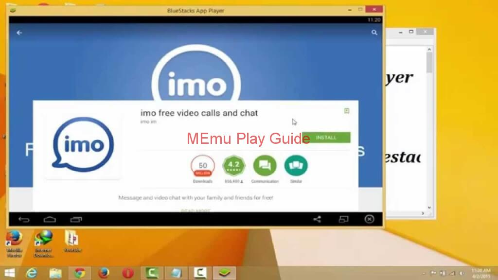 Memu Imo For Pc Download Windows