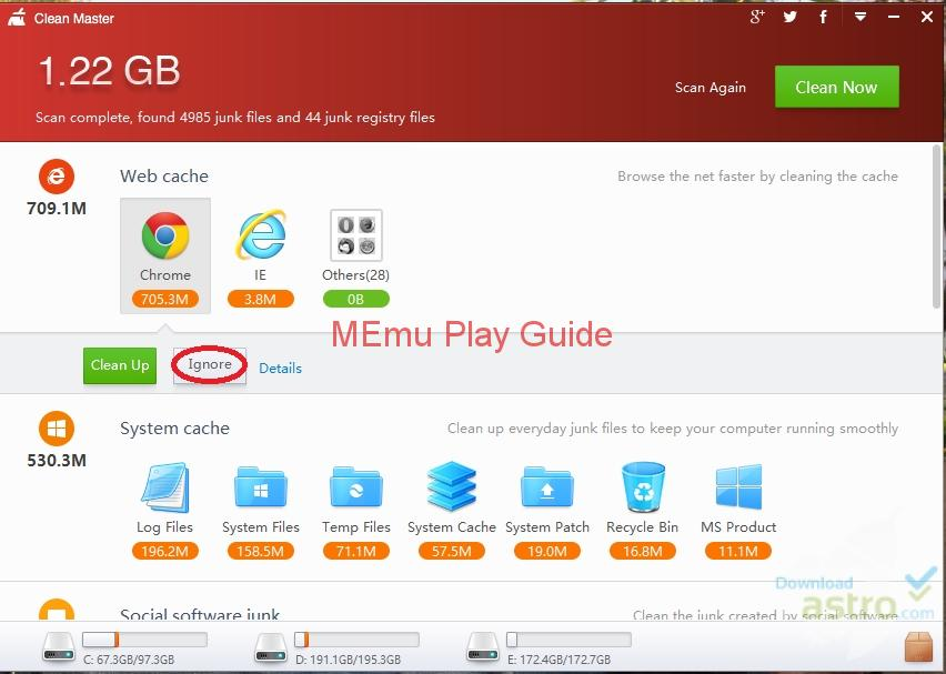 Download Memu Clean master For pc The Clean master For pc is an option for