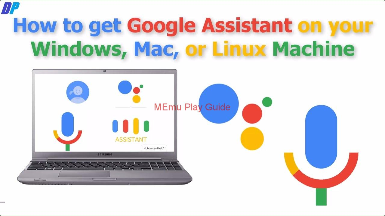Memu Download  Google Assistant Windows 10 | MEmu Play Guides