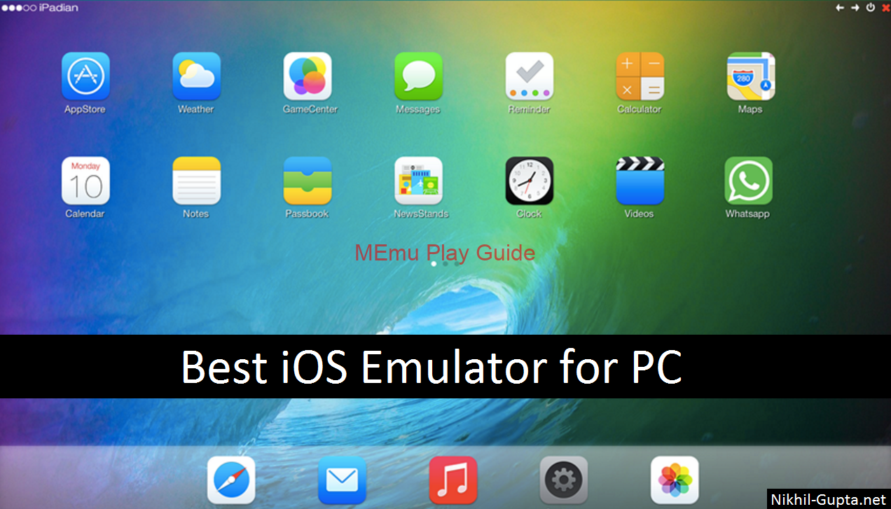 Memu Download iOS Emulator for PC Windows