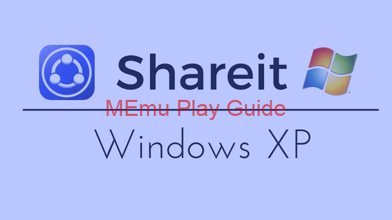Memu Download SHAREit for PC Windows