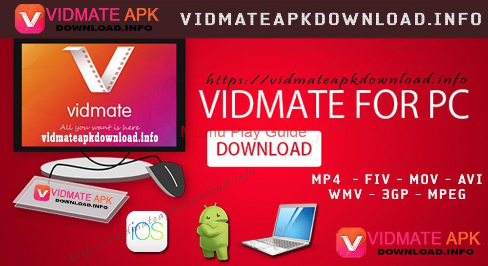 Memu Download vidmate for pc Windows