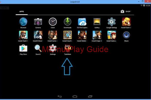 Memu Download TubeMate for PC Windows