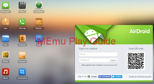 Memu Download Airdroid On Pc Adds a Desktop Widgwet